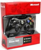 Pad przewodowy do Xbox 360 CZARNY PC