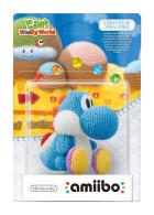 Figurka Amiibo Yoshis Woolly world - Blue Yoshi Yarn 3DS