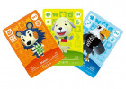 Zestaw 3 kart do Animal Crossing Happy Home Designer 3DS