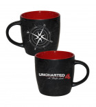 Kubek z logo Uncharted 4 Compass map, Gadżety