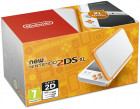 New Nintendo 2DS XL White + Orange, New Nintendo 3DS
