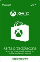 Karta Przedpłacona XBOX LIVE 20, Xbox One