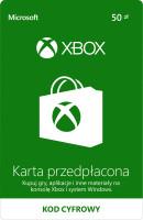 Karta Przedpłacona XBOX LIVE 50, Xbox One