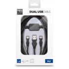 Kabel Micro USB do ładowania dwóch urządzeń XONE