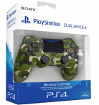 Nowy Pad Sony DualShock 4 do Playstation 4 Green Camo PS4