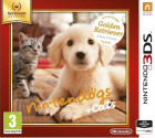 Nintendogs Golden Retriever + Cats Select, Nintendo 3DS