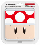 New 3DS Cover Plate 7 Toad czerwony N3DS