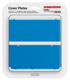 New 3DS Cover Plate niebieski N3DS
