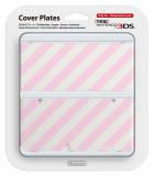 New 3DS Cover Plate Pink Mix N3DS