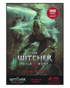 Witcher 3 Wild Hunt Puzzle Ciri and the Wolves Gadżety
