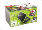 New Nintendo 2DS XL Black&Lime Green+MK7 N3DS